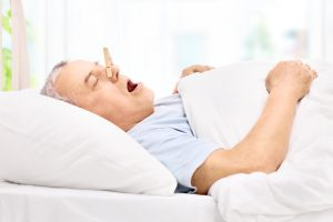 Sleep testing for sleep apnea.
